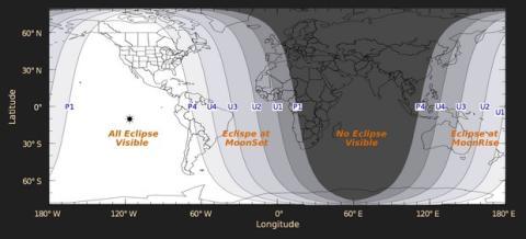 Eclipse Luna de Sangre, el 15 de abril