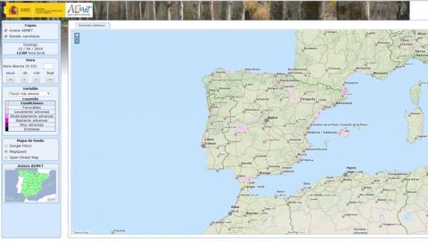 Meteoruta, la web para consultar el estado de las carreteras en España, en tiempo real