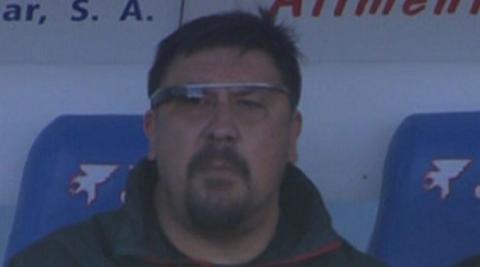 Google Glass liga de fútbol. Foto: Marca.com