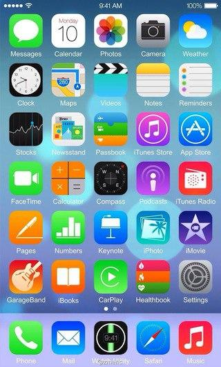 iOs 8 en iPhone 6