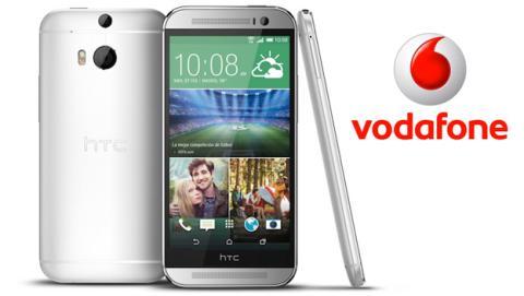 Vodafone lanzará el nuevo HTC ONE (M8) plata en exclusiva