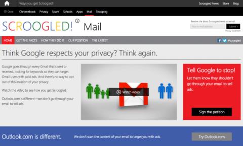 Scroogled: Microsoft contra Google