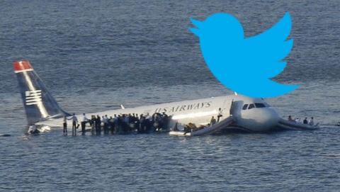 La aerolínea U.S. Airways responde con una imagen porno a las quejas de una pasajera en Twitter.