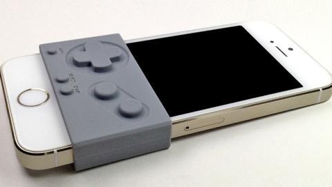 Una funda de silicona convierte tu iPhone en una Game Boy