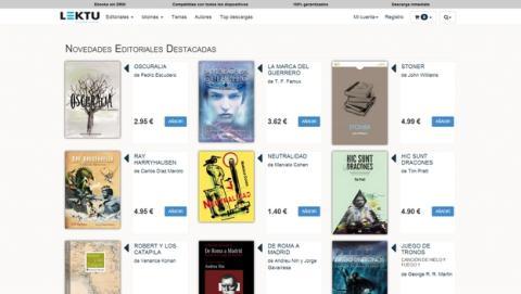 La plataforma de venta de ebooks Lektu abre sus puertas, con la venta en exclusiva de los ebooks de Canción de Hielo y Fuego, y títulos como Juego de Tronos sin DRM.