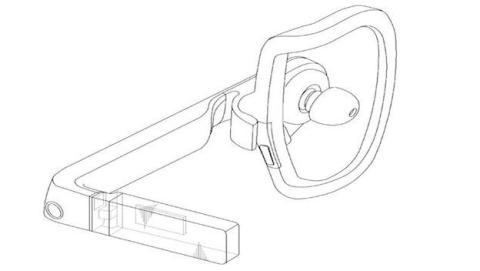 El auricular incluye una pantalla similar a la de Google Glass