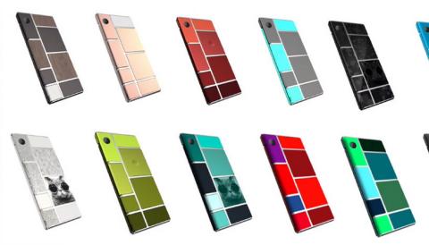 Nuevos diseños de Project Ara, el teléfono modular de Google