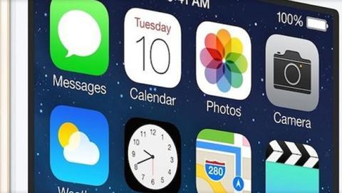 se filtra imagen del panel frontal del iPhone 6