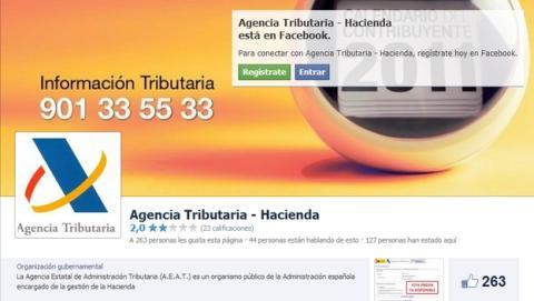 Hacienda vigila las redes sociales, Twitter y Facebook, para cazar a los defraudadores