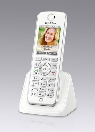 FRITZ!Fon C4 de AVMm el teléfono fijo con funciones de smartphone