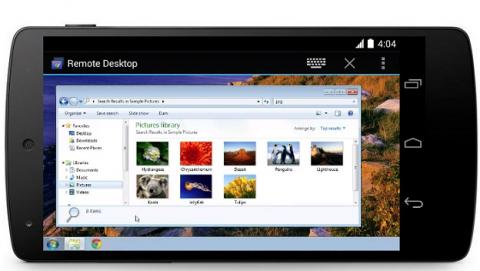 App móvil Chrome Remote Desktop for Android de Android