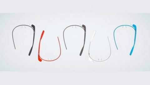 Google glass en cinco colores colores