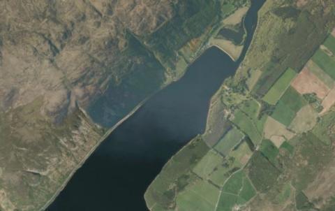 Lago Ness Mapas de Apple