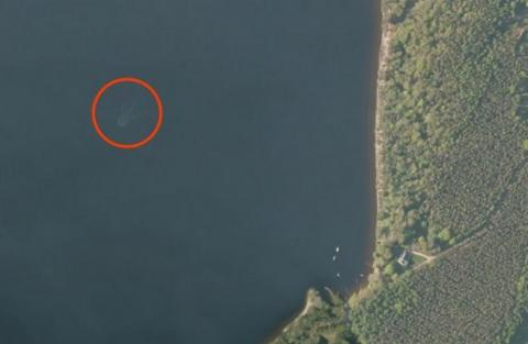 Monstruo del Lago Ness Mapas de Apple