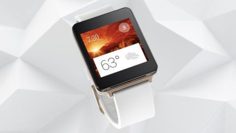 Se revela el LG G Watch, el smartwatch de LG con Android Wear, resistente al agua y pantalla siempre encendida