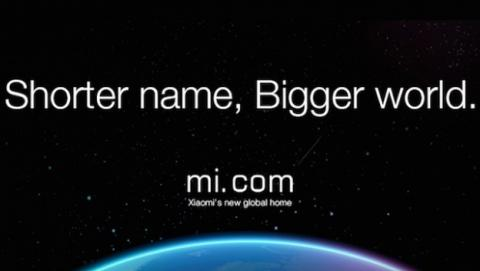 Xiaomi llama a su web Mi.com
