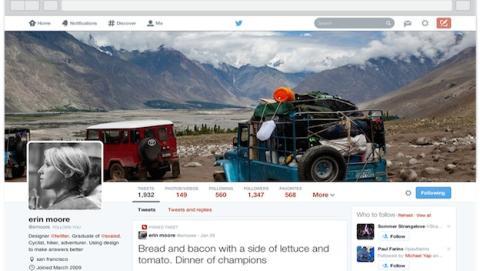 Consigue el nuevo perfil de Twitter