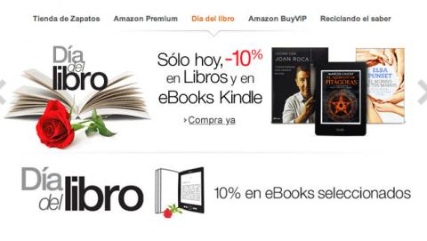 Ofertas del Día del Libro en Amazon