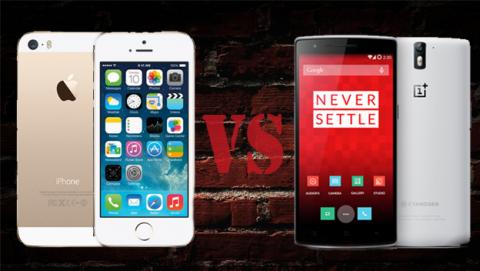 Qué móvil es mejor: el nuevo OnePlus One o el iPhone 5S