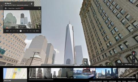 Construcción del Freedom Tower en Nueva York