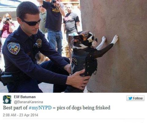 Policía en Twitter