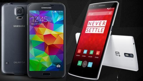 OnePlus One vs Samsung Galaxy S5