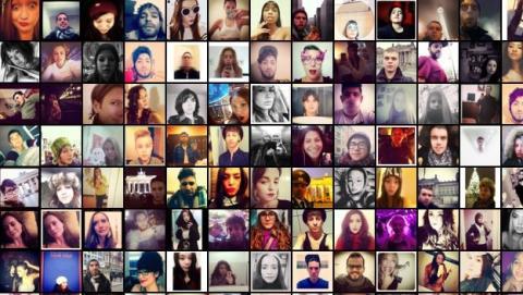 selfies en Instagram