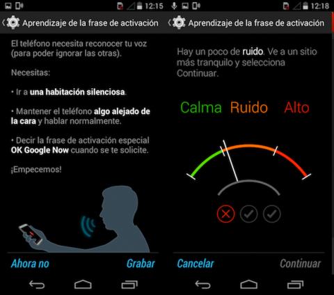 Asistente voz Android