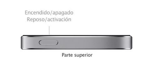 iPhone 5 botón de encendido fallo