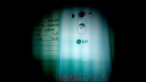 Primera foto del LG G3, con nuevo sensor y botones traseros, posible doble cámara
