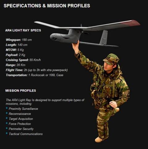 Drone de la Marina Portuguesa