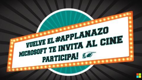 Microsoft ofrece entradas de cine gratis con Windows Phone y la promoción #applanazo