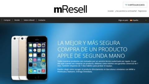 mResell, la web para comprar y vender dispositivos de Apple usados, de segunda mano, llega a los 200.000 usuarios