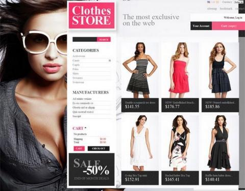 Las ventas de ropa y moda online suben en España