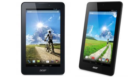 Acer presenta sus nuevas tablets Iconia One 7 y Iconia Tab 7