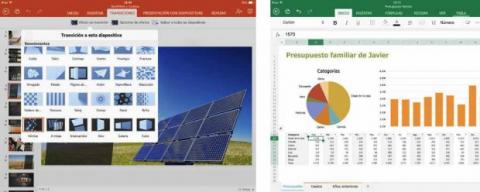 PowerPoint Excel ipad