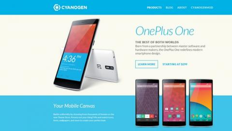 Cyanogen estrena web para CyanogenMod y OnePlus One