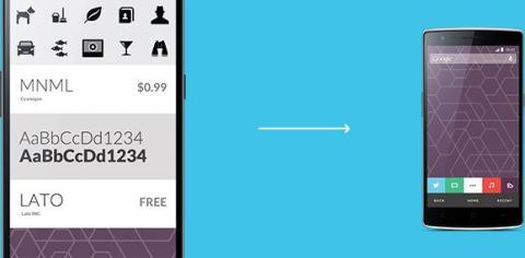 Cyanogen Theme Store
