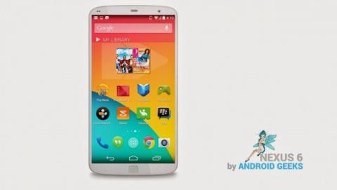 Diseño concepto Nexus 6