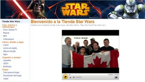 Apple y Amazon celebran el Día de Star Wars en sus tiendas, el 4 de mayo.