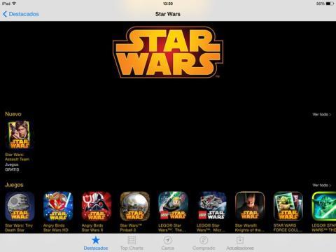Día de Star Wars App Store