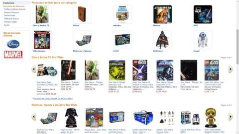 Día de Star Wars en Amazon España