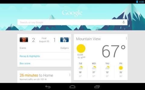Novedades de Google Now y Google Drive