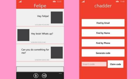 Chadder app de mensajería encriptada