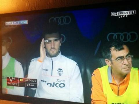 Google Glass Valencia-Real Madrid