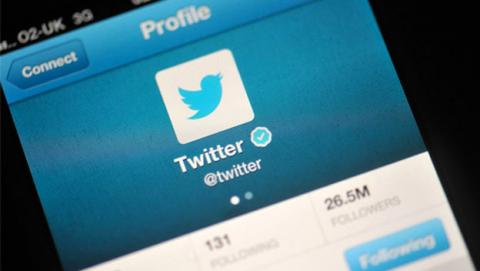 Botón de silenciar de Twitter