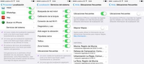 desactivar ubicacion iphone