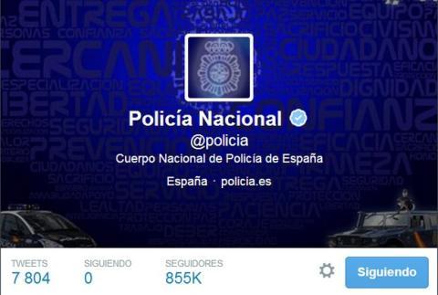 Policía Nacional estrena Alertas de Twitter