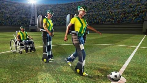 Exoesqueleto hará su debut en el mundial de fútbol