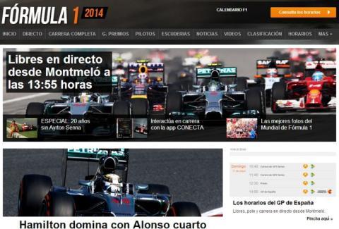 GP España F1 2014 en directo